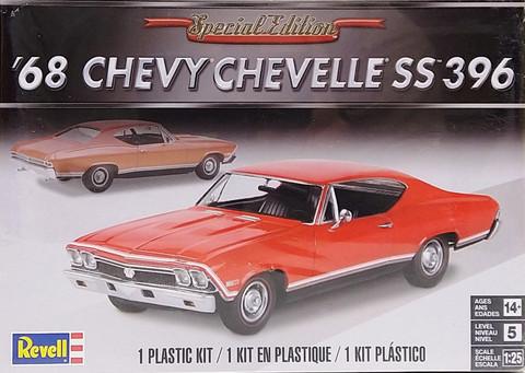 Chevrolet Chevelle SS396 '68, 1:25