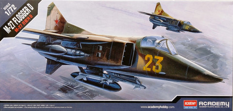 MiG-27 Flogger D, 1:72