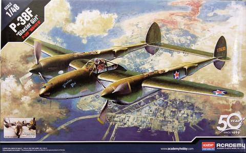 P-38F Glacier Girl, 1:48