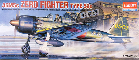 A6M5c Zero Fighter Type 52c, 1:72
