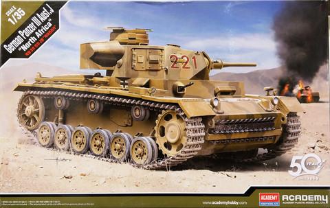 German Panzer III Ausf.J North Africa, 1:35