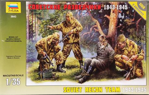 Soviet Recon Team 1943-1945, 1:35