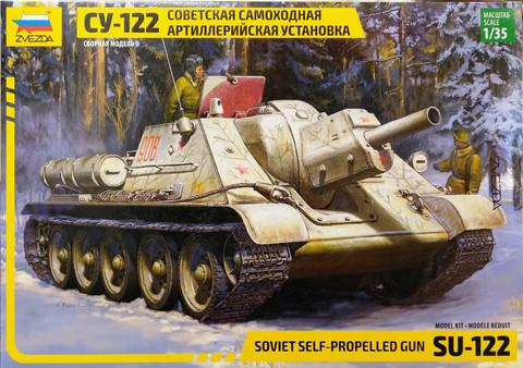 Soviet Self-Propelled Gun SU-122, 1:35