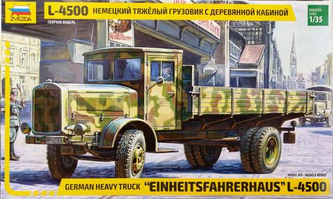 German Heavy Truck L-4500, 1:35