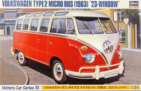 Volkswagen Type2 Micro Bus 1963, 1:24