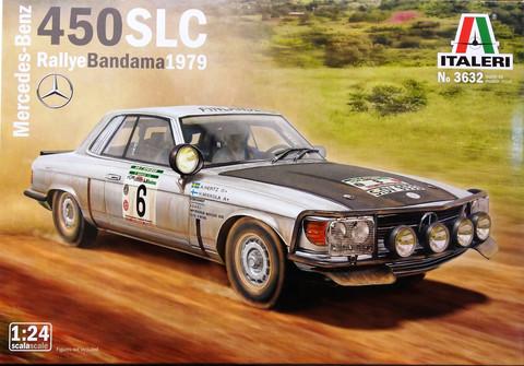 Mercedes-Benz 450SLC Rallye Bandama 1979, 1:24 (pidemmällä toimitusajalla)