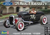 Ford 1929 Model A Roadster 2n1, 1:25 (Pidemmällä Toimitusajalla)