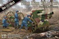 ENNAKKOTILAUS French Schneider 155mm C17S howitzer, 1:35