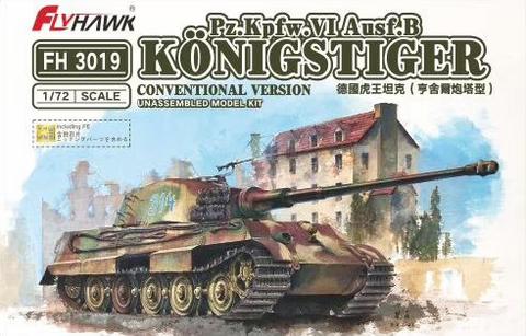 Sd.Kfz.182 King Tiger (Production Turret), 1:72 (Pidemmällä Toimitusajalla)