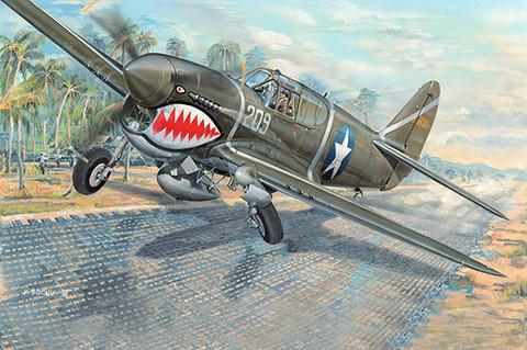 P-40F Warhawk, 1:32 (pidemmällä toimitusajalla)