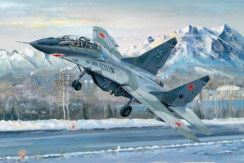 MiG-29UB Fulcrum, 1:32 (pidemmällä toimitusajalla)