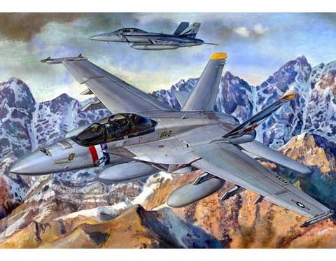 F/A-18F Super Hornet, 1:32 (pidemmällä toimitusajalla)