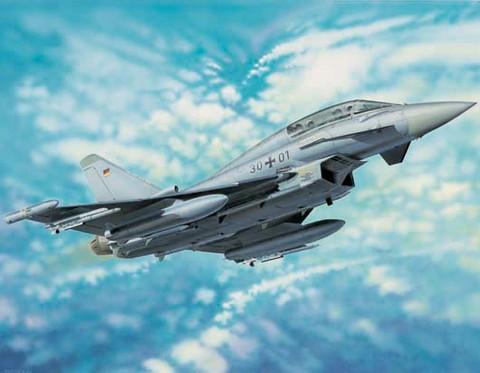 EF-2000B Eurofighter Typhoon, 1:32 (pidemmällä toimitusajalla)