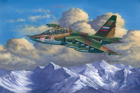 Su-25UB Frogfoot B, 1:32 (pidemmällä toimitusajalla)