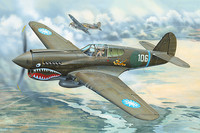 P-40E Warhawk, 1:32 (pidemmällä toimitusajalla)