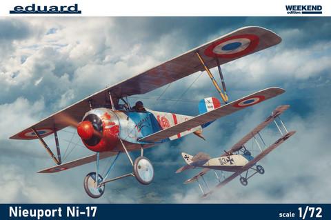 Nieuport Ni-17, 1:72 (pidemmällä toimitusajalla)