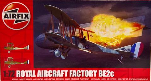 Royal Aircraft Factory BE2c, 1:72