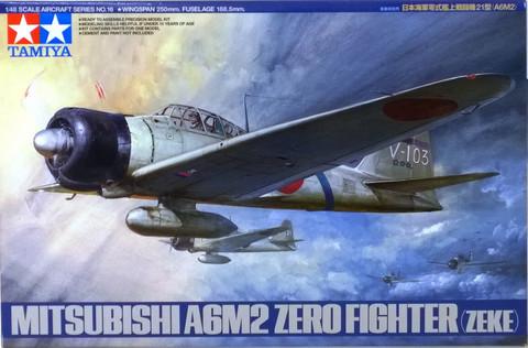 Mitsubishi A6M2 Zero Fighter, 1:48