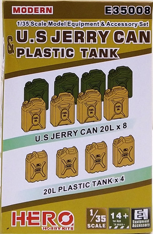 U.S. Jerry Can & Plastic Tank, 1:35