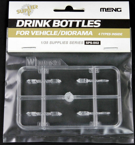 Drink Bottles for Vehicle/Diorama, 1:35