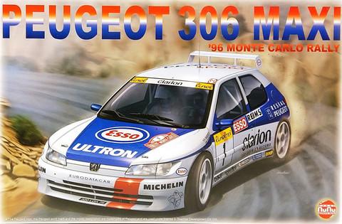 Peugeot 306 Maxi '96 Monte-Carlo Rally), 1:24 (pidemmällä toimitusajalla)