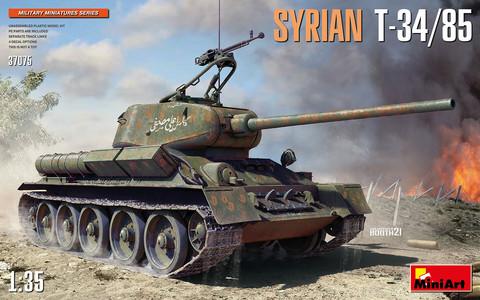 Syrian T-34/85, 1:35 (Pidemmällä Toimitusajalla)