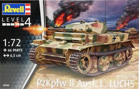 Pz.Kpfw. II Ausf.L LUCHS, 1:72