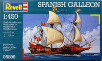 Spanish Galleon, 1:450