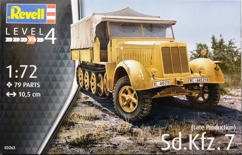 Sd.Kfz.7 (Late Production), 1:72