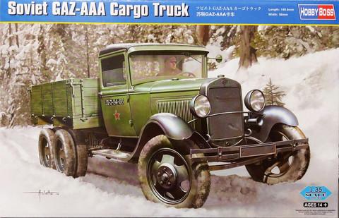 Soviet GAZ-AAA Cargo Truck, 1:35