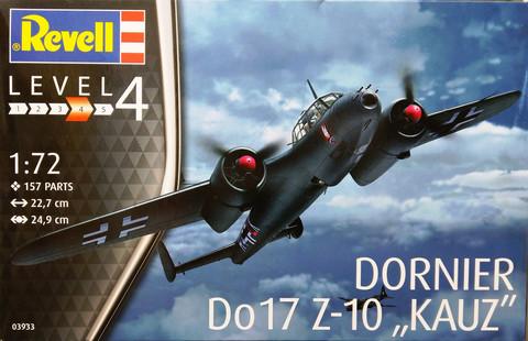 Dornier Do17 Z-10 Krauz, 1:72