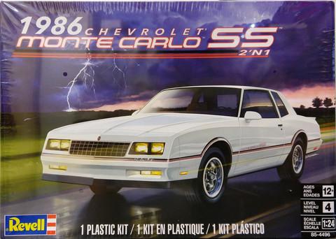 Chevrolet Monte Carlo SS 1986, 1:24 (pidemmällä toimitusajalla)