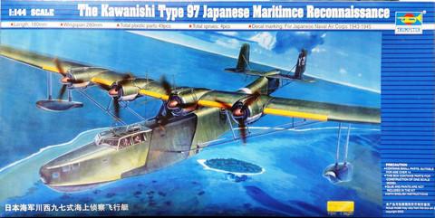 Kawanishi Type 97 Japanese Maritime Reconnaissance, 1:144