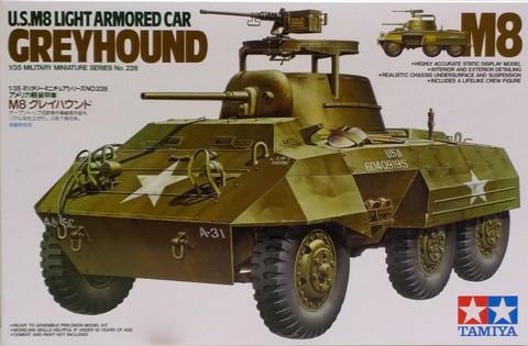 U.S M8 Light Armored Car Greyhound, 1:35 (pidemmällä toimitusajalla)