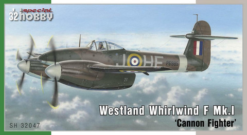 Westland Whirlwind Mk.I Cannon Fighter SH32047, 1:32
