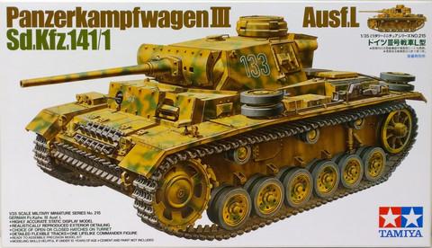 Panzerkampfwagen III Ausf.L, 1:35 (pidemmällä toimitusajalla)