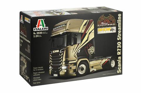 Scania R730 Streamline, 1:24 (pidemmällä toimituksella)