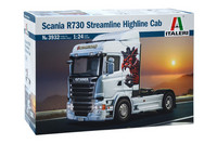 Scania R730 Streamline Highline Cab, 1:24 (pidemmällä toimituksella)