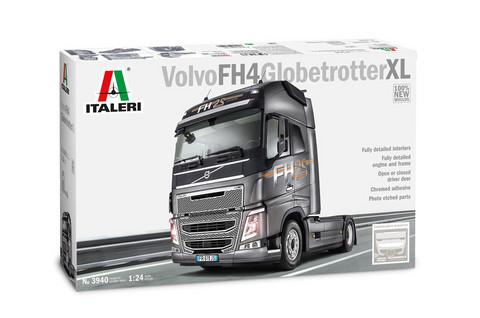 Volvo FH16 Globetrotter XL, 1:24 (pidemmällä toimituksella)