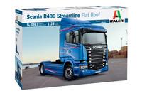 Scania R400 Streamline Flat Roof, 1:24 (pidemmällä toimituksella)
