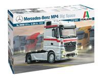 Mercedes Benz MP4 Big Space, 1:24 (pidemmällä toimituksella)
