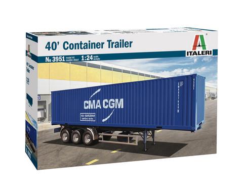40' Container Trailer, 1:24 (pidemmällä toimituksella)