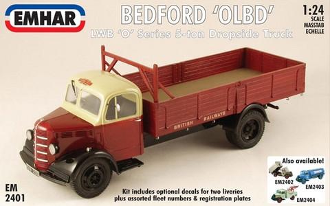 Bedford OLBD LWB Dropside, 1:24 (pidemmällä toimituksella)