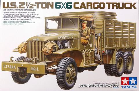 U.S. 2,5-Ton 6x6 Cargo Truck, 1:35 (pidemmällä toimitusajalla)
