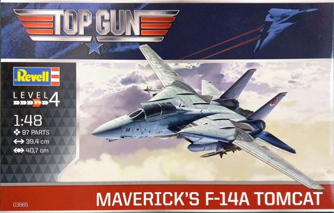 F-14A Tomcat Maverick's, Top Gun, 1:48 (pidemmällä toimitusajalla)
