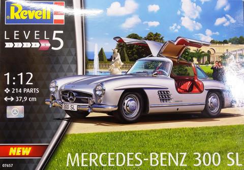 Mercedes-Benz 300SL, 1:12