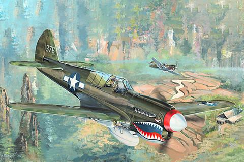 P-40N Warhawk, 1:32 (Pidemmällä Toimitusajalla)