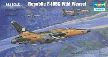 Republic F-105 G Wild Weasel, 1:32 (Pidemmällä Toimitusajalla)