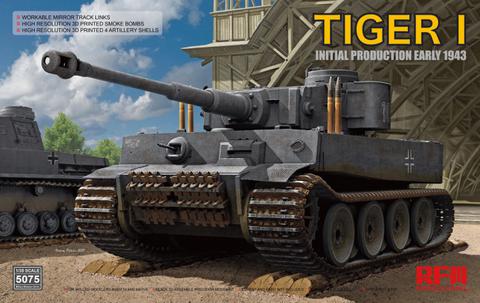 Tiger I Initial Production Early 1943, 1:35 (pidemmällä toimitusajalla)