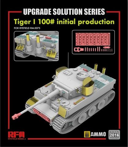 ENNAKKOTILAUS Upgrade set for RFM5075 Tiger I 100#, 1:35